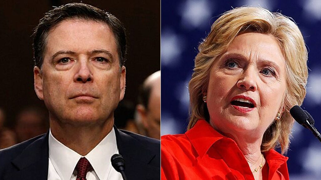 Comey doesn't remember info on Clinton drumming up Russia scandal