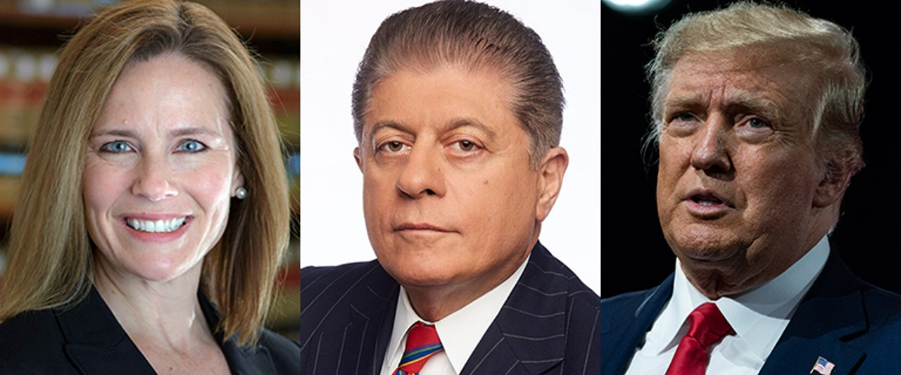 Judge Napolitano on Trump's third Supreme Court nominee, expected just hours from now