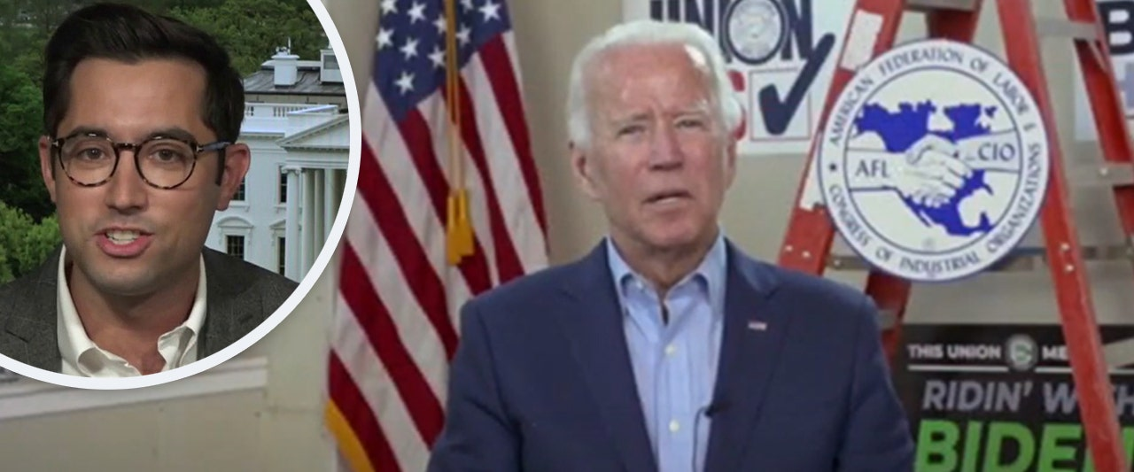 Biden spox refuses to discuss whether candidate used teleprompter to answer questions