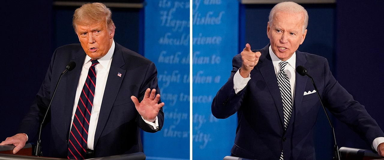 Top 5 moments from Trump and Biden's rough and rowdy first presidential debate; watch the clips