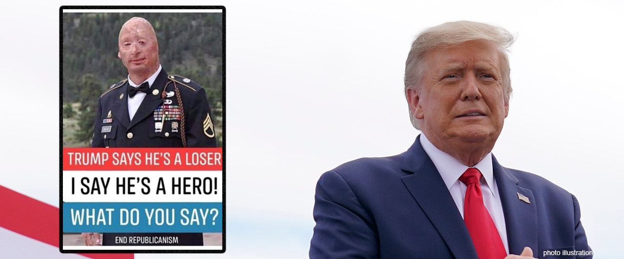 Vet says he's being used in 'propaganda' about president's alleged comments about fallen soldiers