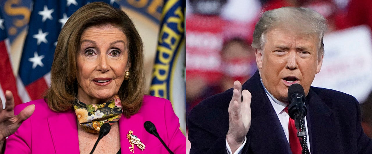 Speaker Pelosi won't rule out using Trump impeachment to stop SCOTUS pick