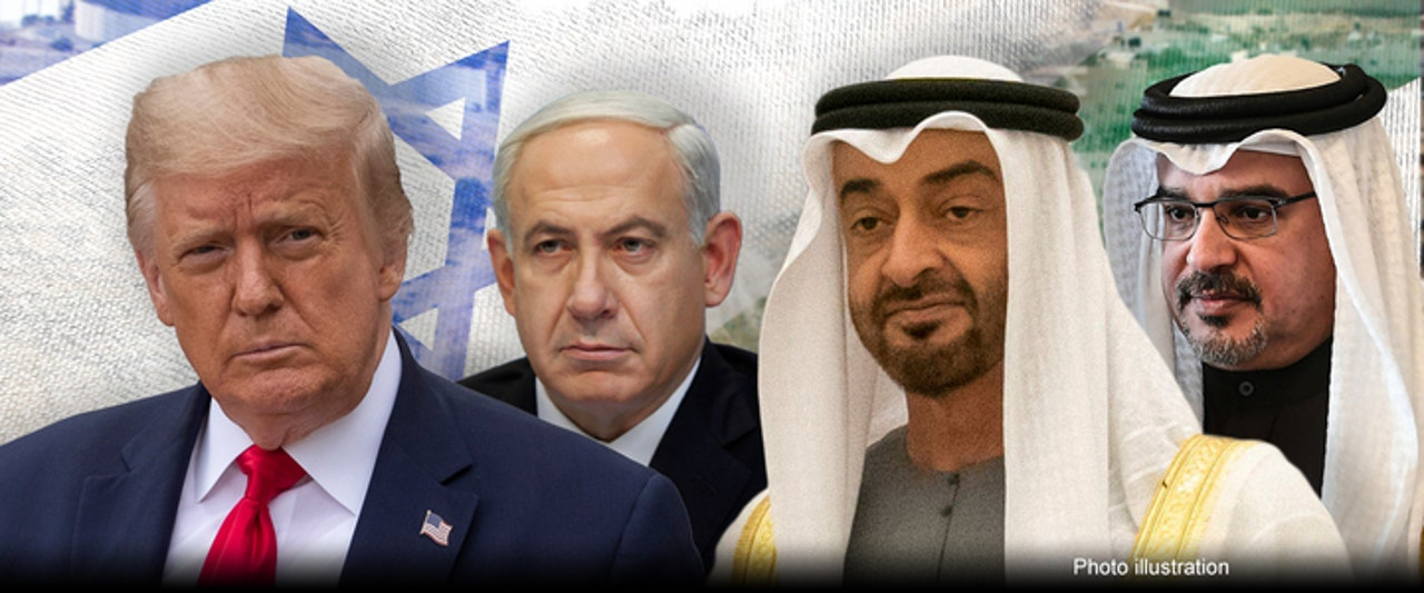 Trump holds White House meetings, as Israeli leader poised to sign peace agreements with Gulf nations