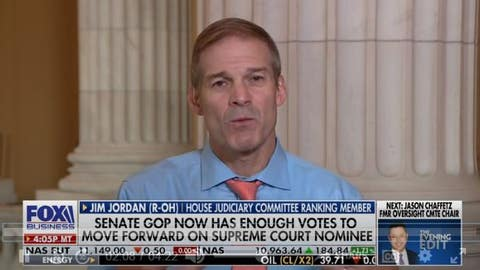 Jim Jordan says Dems want to change SCOTUS rules: 'This is a big difference'