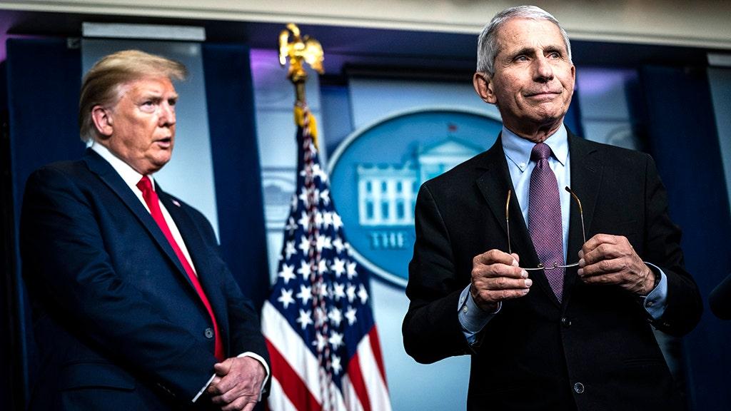 Trump says Americans tired of Fauci, 'these idiots,' coronavirus
