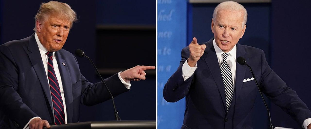 Biden blames Trump for 'embarrassing' debate, despite hurling his own insults at the president