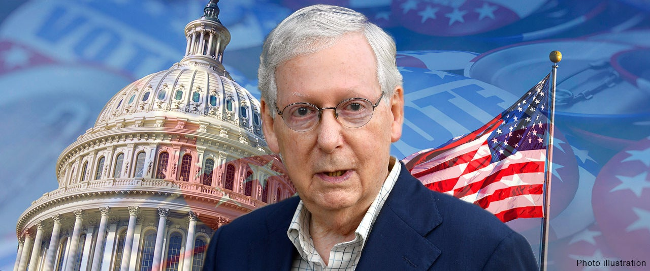 Days before election, Majority leader says GOP has a '50-50' chance of losing control of Senate