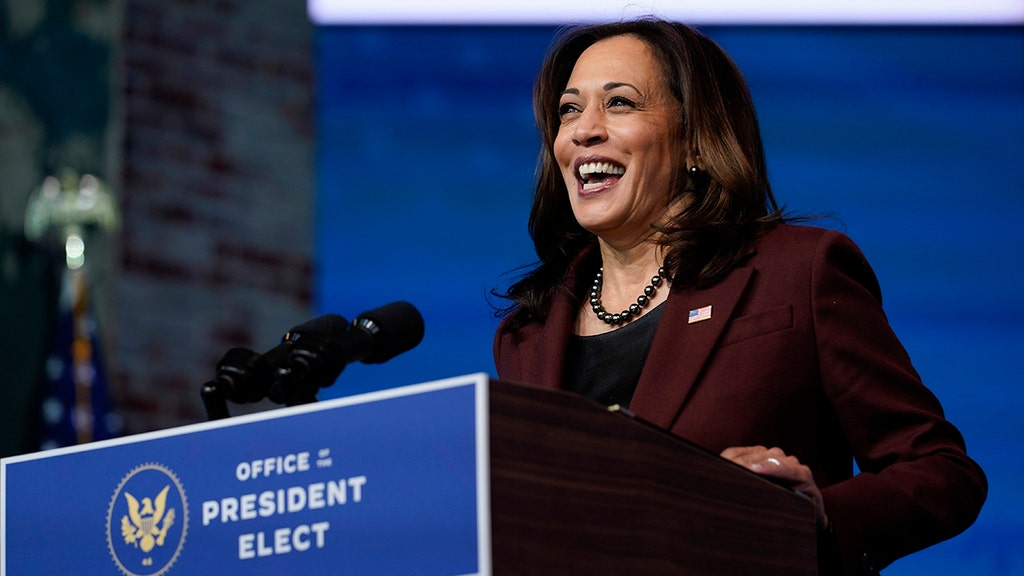 Harris appeals to small shops, gets reminded of helping to bail out rioters