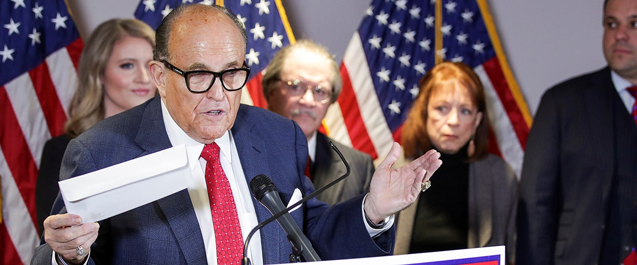 WATCH LIVE: Rudy Giuliani details findings of Trump legal team investigations, voter fraud allegations
