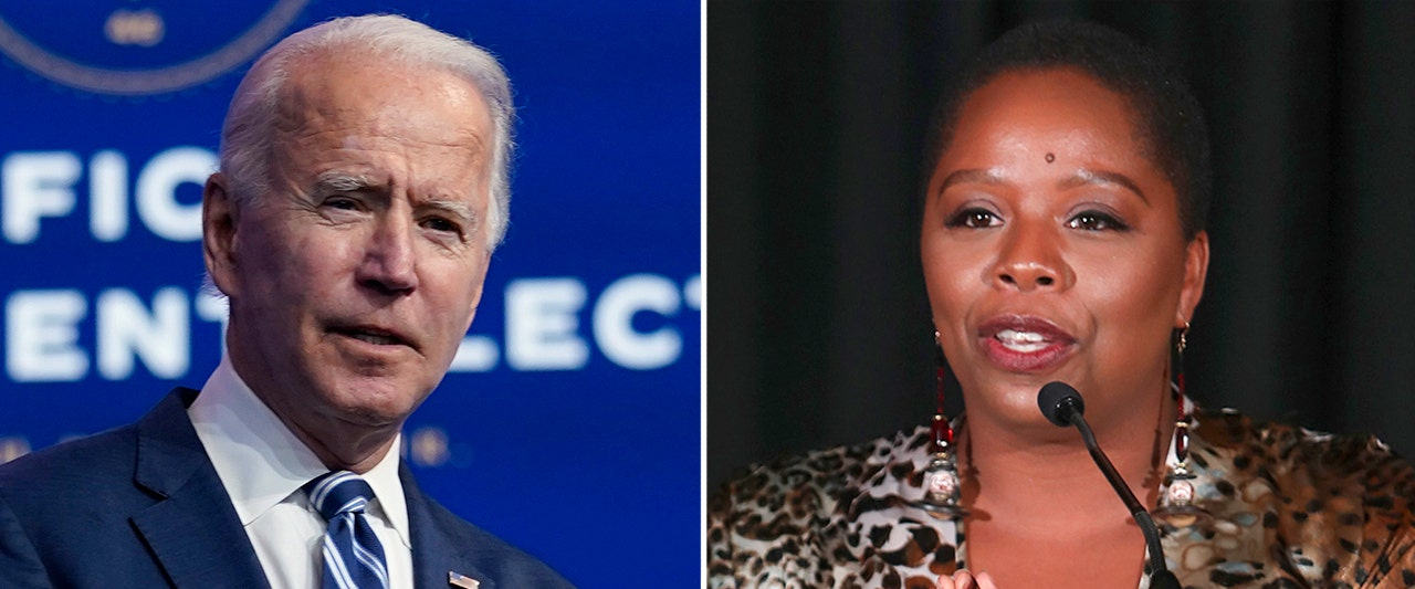 Black Lives Matter co-founder requests meeting, has a message for Biden