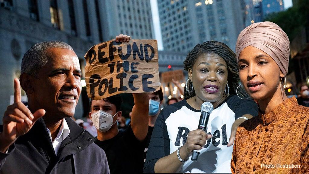 Progressives fire back after Obama rips 'Defund the Police' slogan
