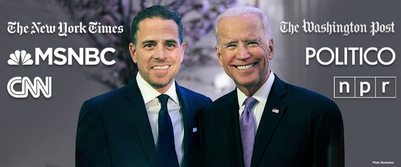 Liberal media's pre-election whitewash of Hunter Biden scandal exposed after DOJ probe is revealed