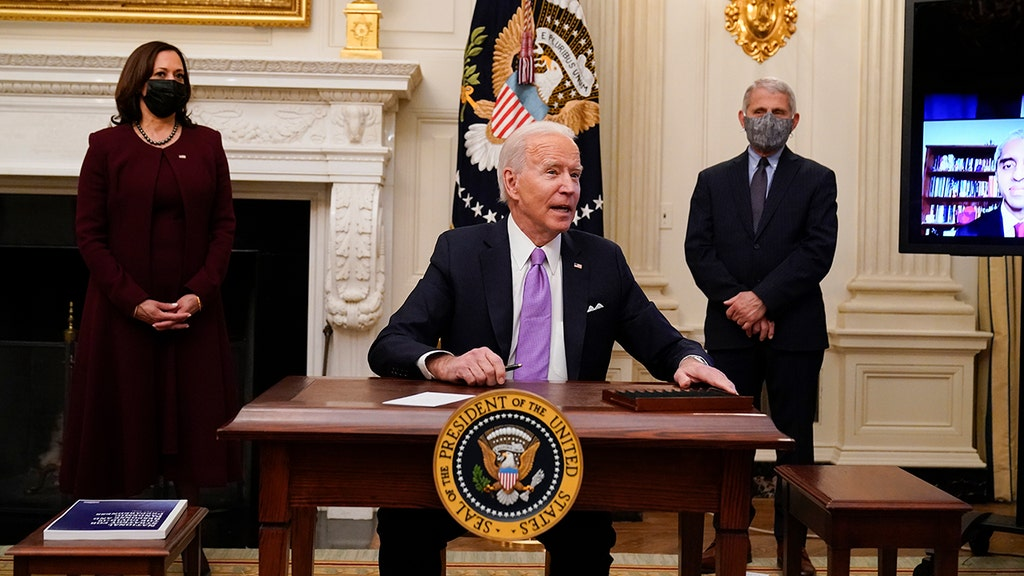 WATCH: Biden gets testy with reporter over vaccine rollout question