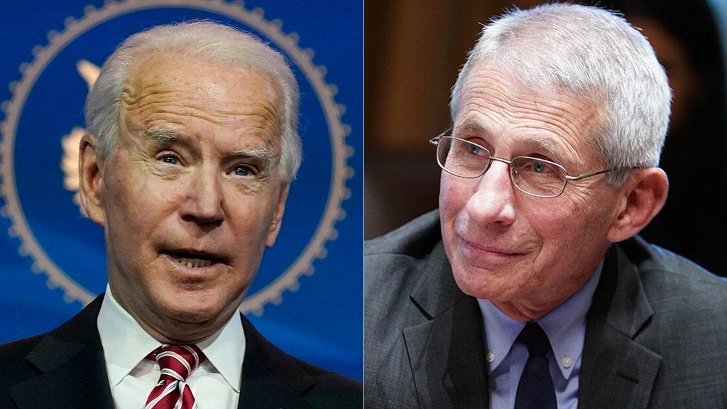 Fauci teases partial lockdowns like California under Biden admin