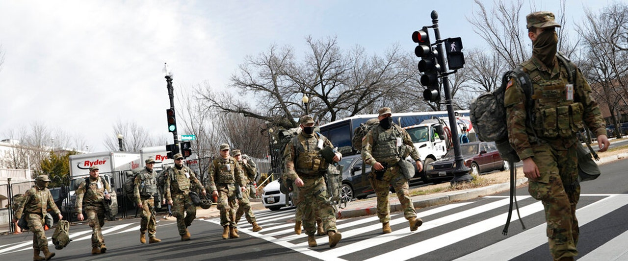 A few thousand National Guard troops could end up staying in the nation's capital long after inauguration