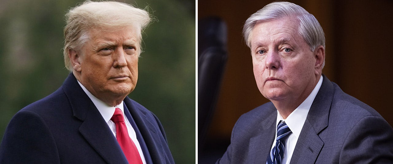 Graham supports Trump's call for bigger stimulus checks as McConnell doubles down on opposition