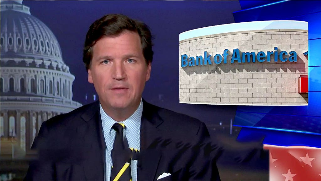 CARLSON: One of biggest U.S. banks gave up customer data after Capitol riot