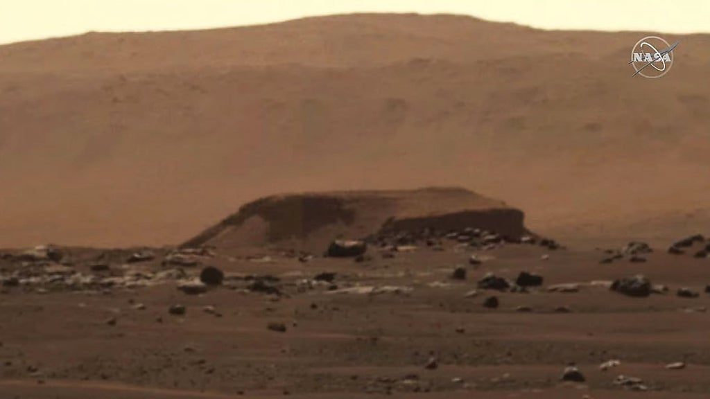 SEE IT: NASA's Perseverance rover sends back first HD Mars panorama