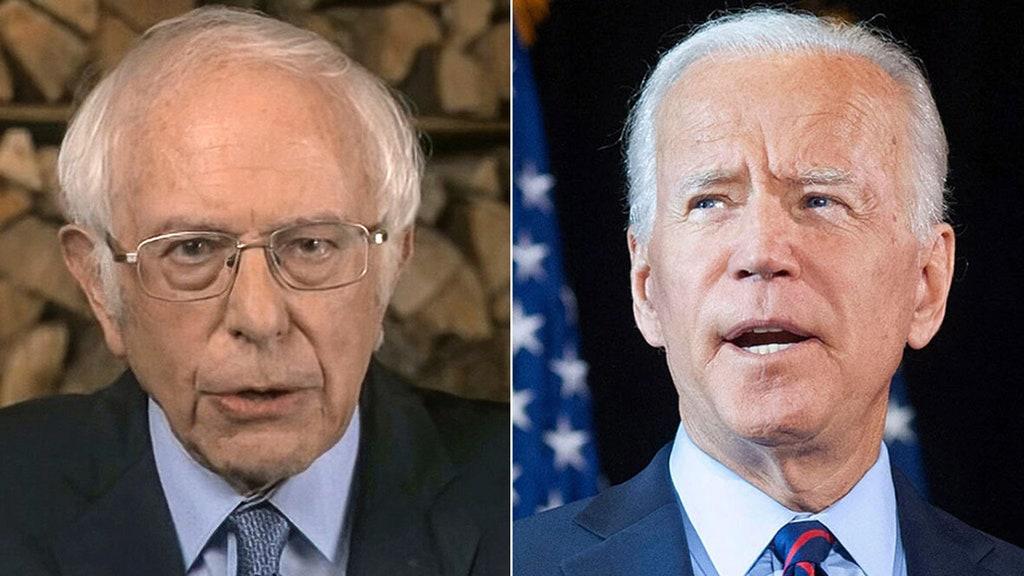 Progressives like Sanders not happy with Biden's Syria strike