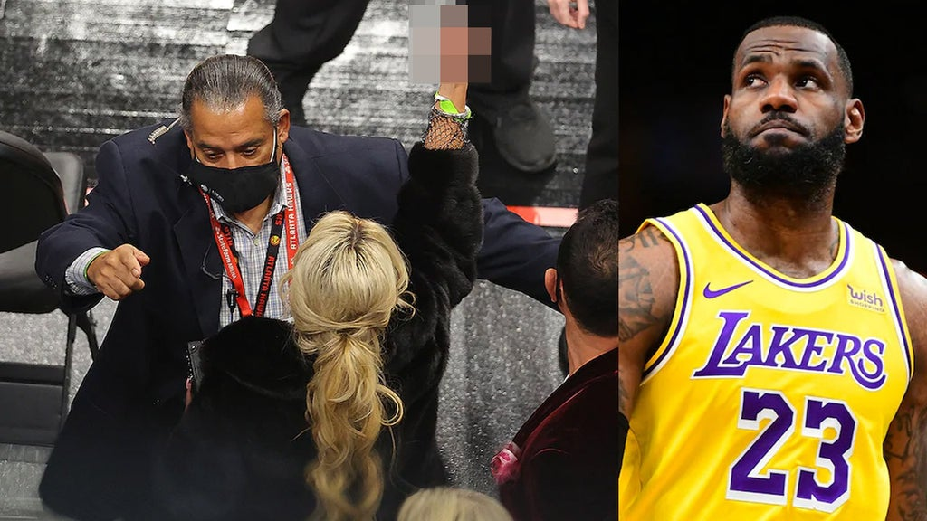 LeBron James addresses his heated exchange with ejected fan during game