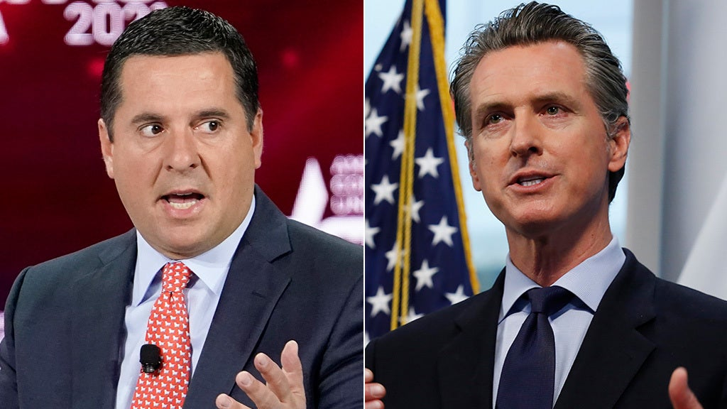 Nunes: Newsom recall has good chance when 'left starts eating their own'