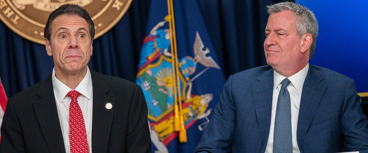 NYC mayor de Blasio backs up Democrat who claims gov. threatened him over COVID death coverup