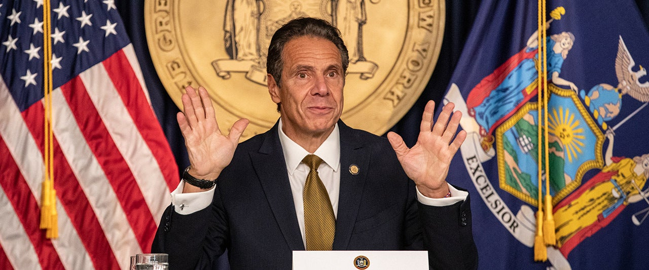 Democrats rip Cuomo, directly contradict story, after his first public remarks on COVID death scandal