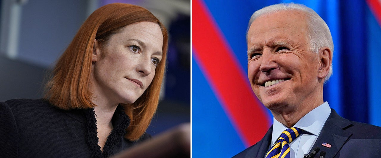 Biden blames Psaki for botched messaging on school reopenings, then fails to answer questions