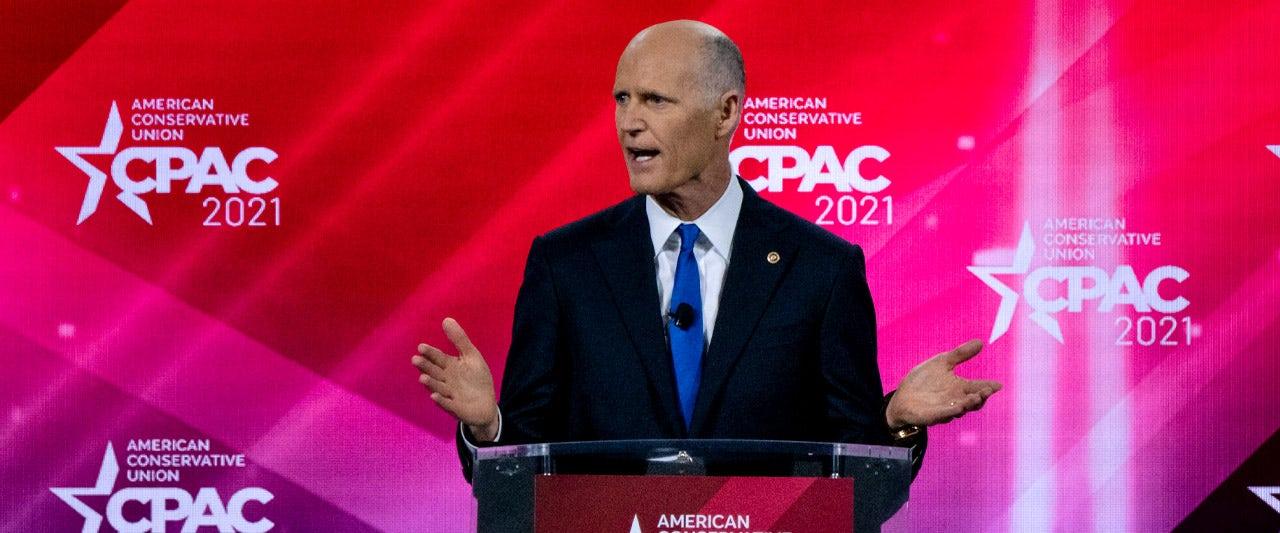 GOP will flip these 4 Dem Senate seats in 2022 and more, Sen. Rick Scott tells Fox News at CPAC