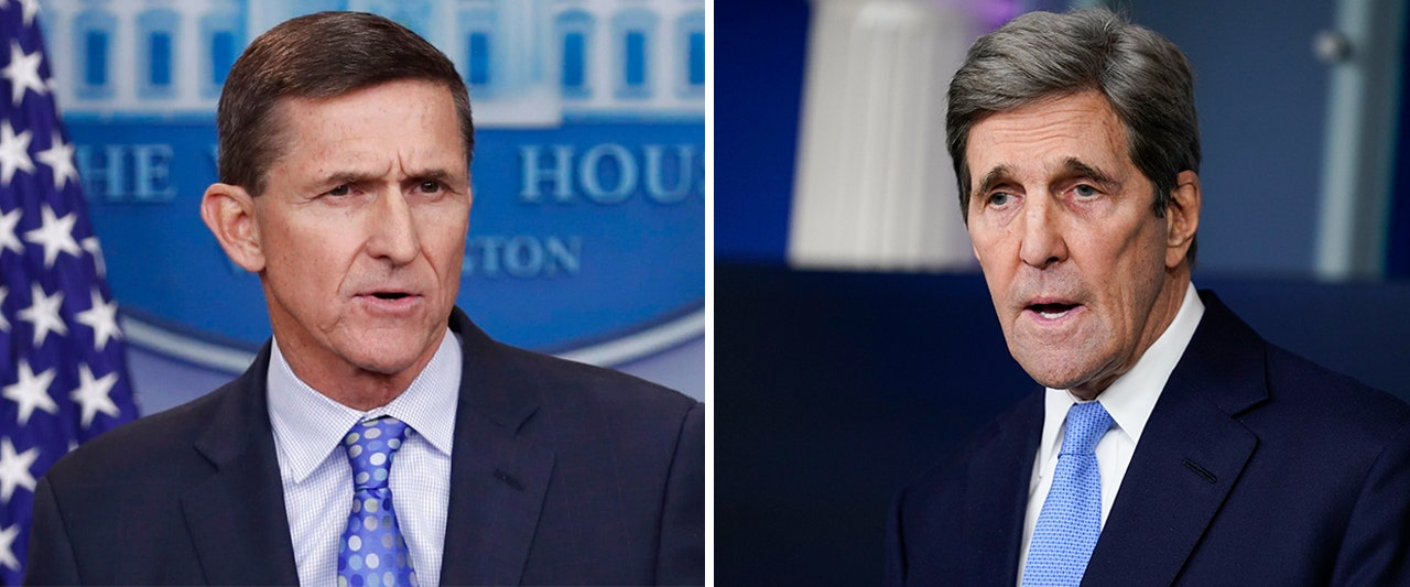Flynn was prosecuted for Russia talks. Should Kerry face charges for a questionable meeting with Iran?