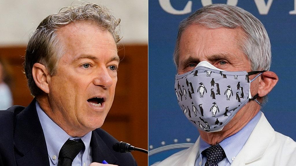 Rand Paul, Fauci reach boiling point over masks