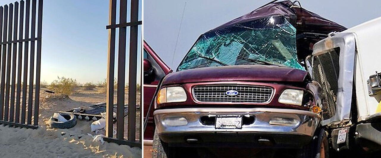 SUV in deadly California crash entered US through gap in border barrier: report