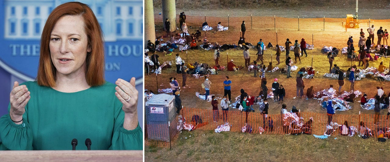 Psaki takes new step in describing border disaster, but plays blame game and still refuses to say 'crisis'