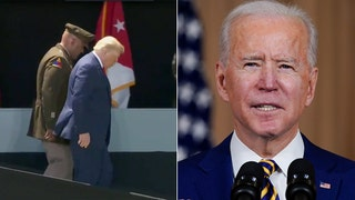 Biden's mockery of Trump's ramp walk comes back to haunt him