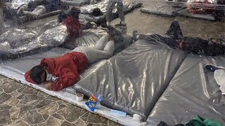 Chilling photos paint picture of overcrowded tent packed with illegals