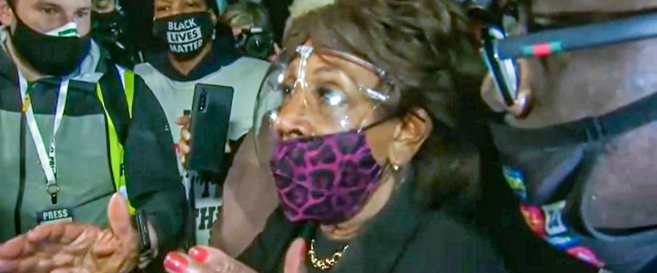 Maxine Waters under fire for riling up anti-police protesters as Republicans slam her 'call for violence'