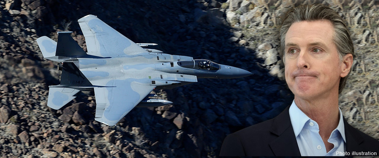 California National Guard put F-15 on high alert in 2020 fearing outrage over Newsom lockdowns