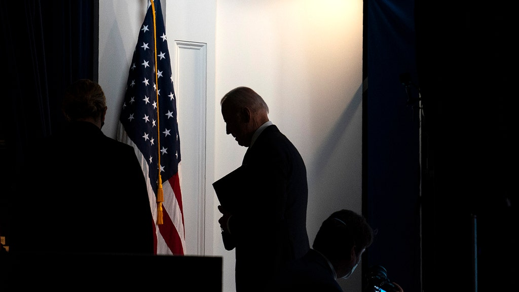 Biden takes questions, even though he's not 'supposed' to