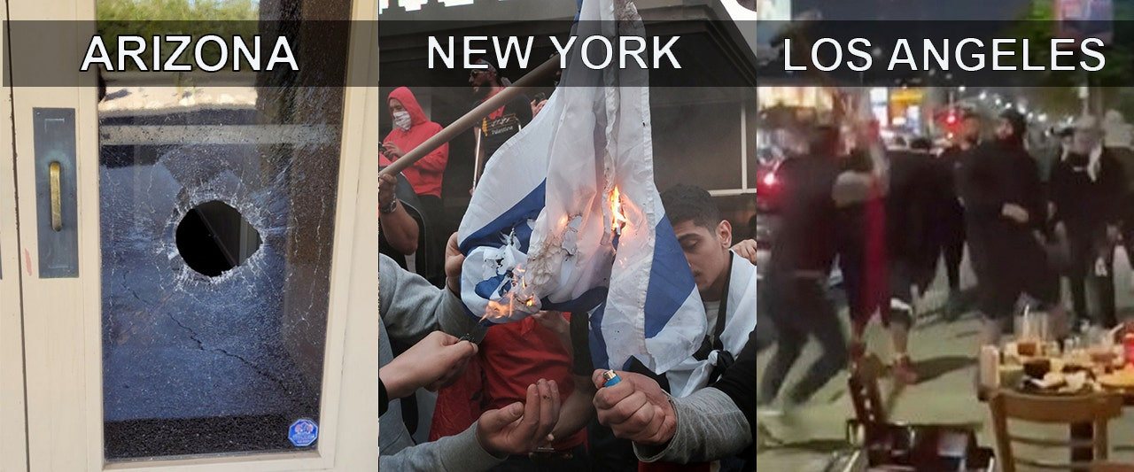 Violence against Jewish communities explodes across US as Israel-Hamas cease-fire takes effect