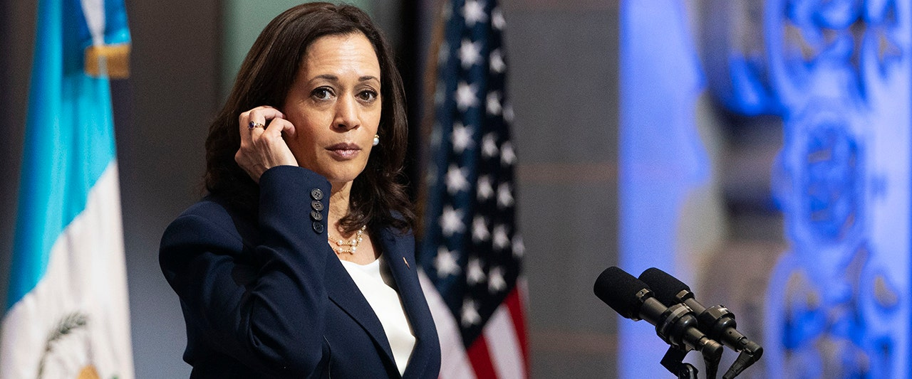 Harris backtracks on message to migrants as host country's president blames Biden for border crisis