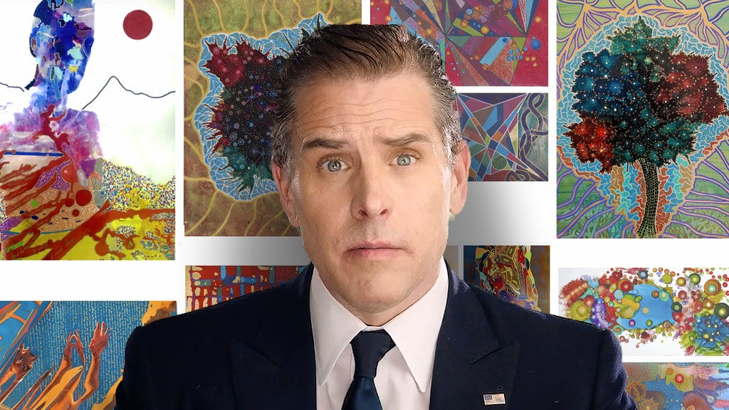 """Hunter Biden Has a Message for the People Making Fun of His """"Art"""""""