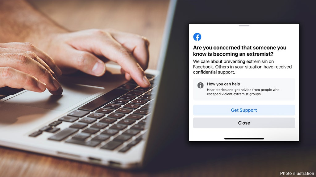 Facebook appears to be targeting certain users with 'extremism' warnings