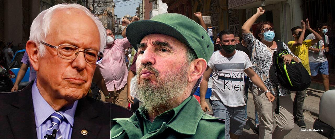 Socialist Sanders silent on Cubans begging for freedom after praising Castro's communist policies