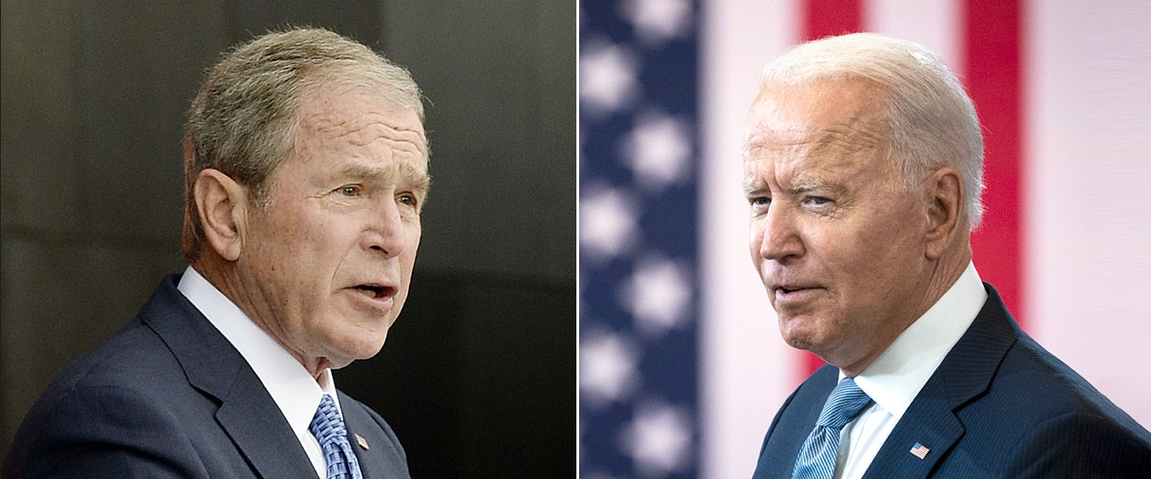 In rare criticism, G.W. Bush predicts slaughter of innocents after Biden's withdrawal from Afghanistan