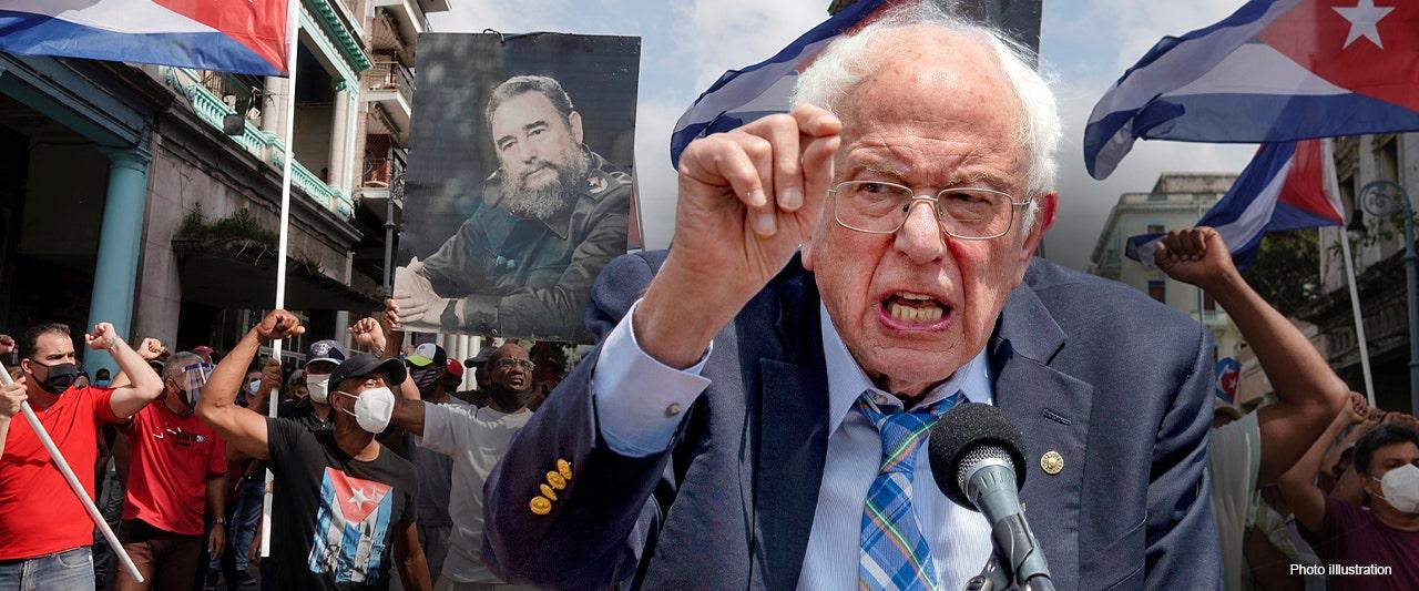 Socialist Sanders loves trash talking Republicans but where's his volume button on communist Cuba