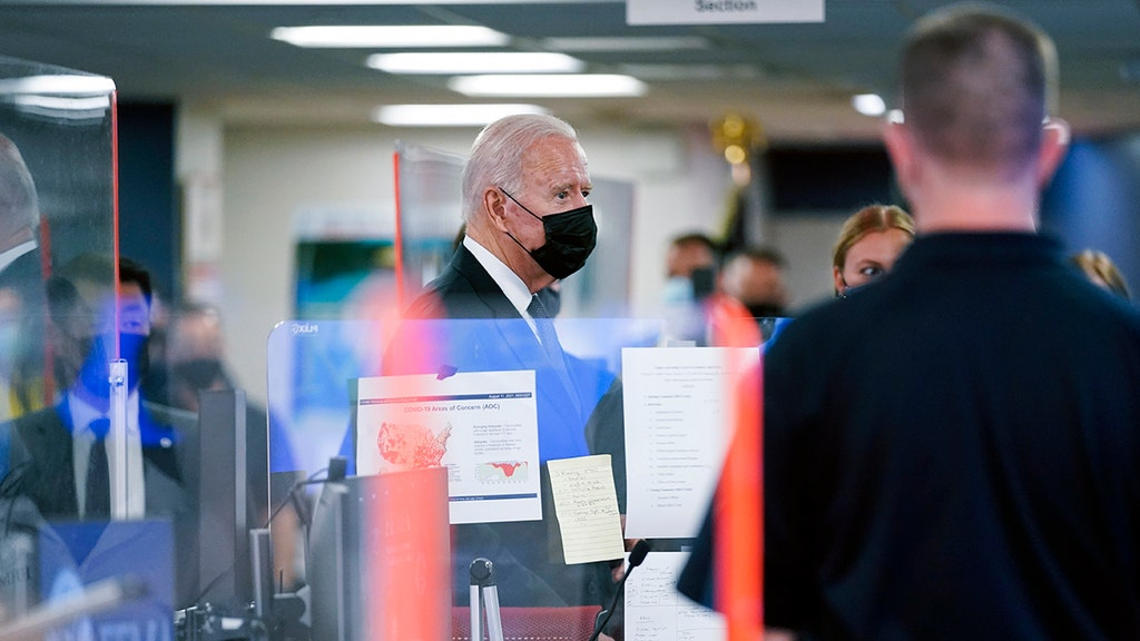 Biden walks away after one question he doesn't want to answer at FEMA