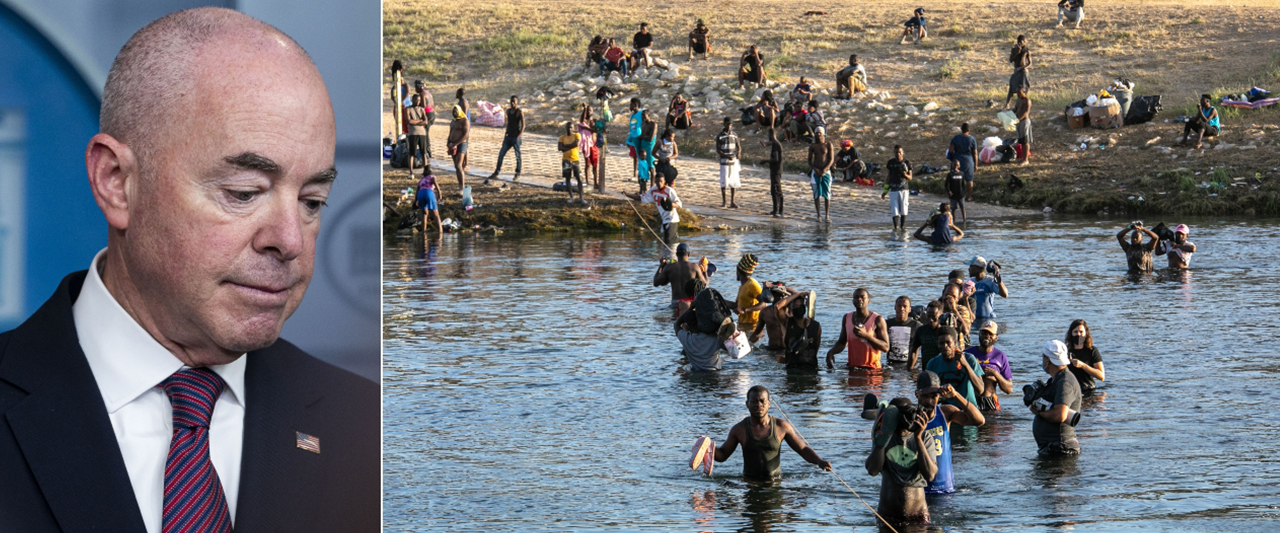 Mayorkas makes stunning admission about vast numbers of Haitian migrants released into US