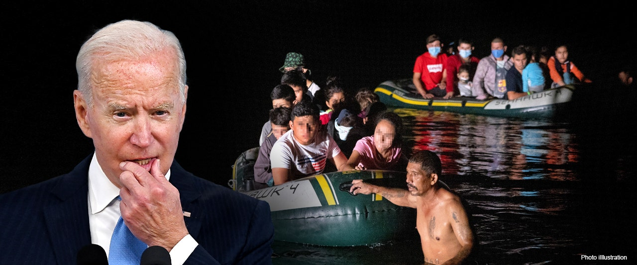 Biden helping secure Afghan border as unvetted migrants continue to pour into the US from Mexico