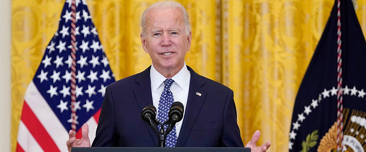 Biden raises eyebrows for again implying he's not really in charge: 'I'm supposed to stop and walk out'