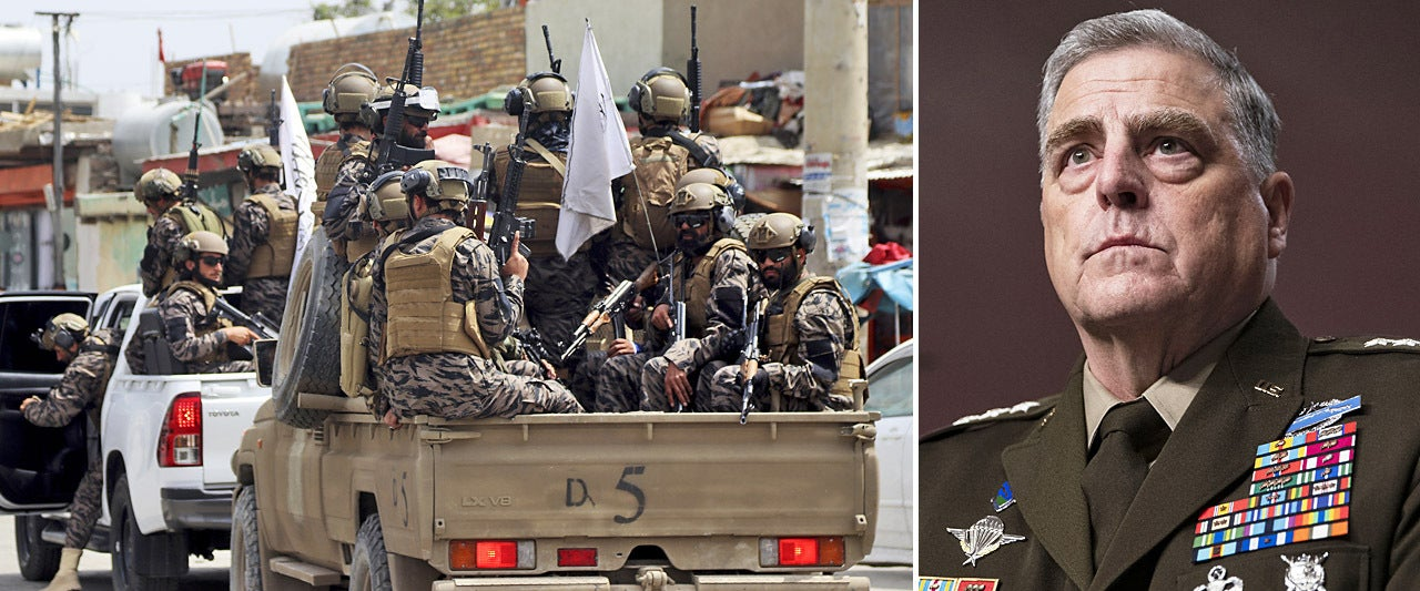 EXCLUSIVE: Gen. Milley says Afghan civil war 'likely' after US withdrawal and warns of al Qaeda threat